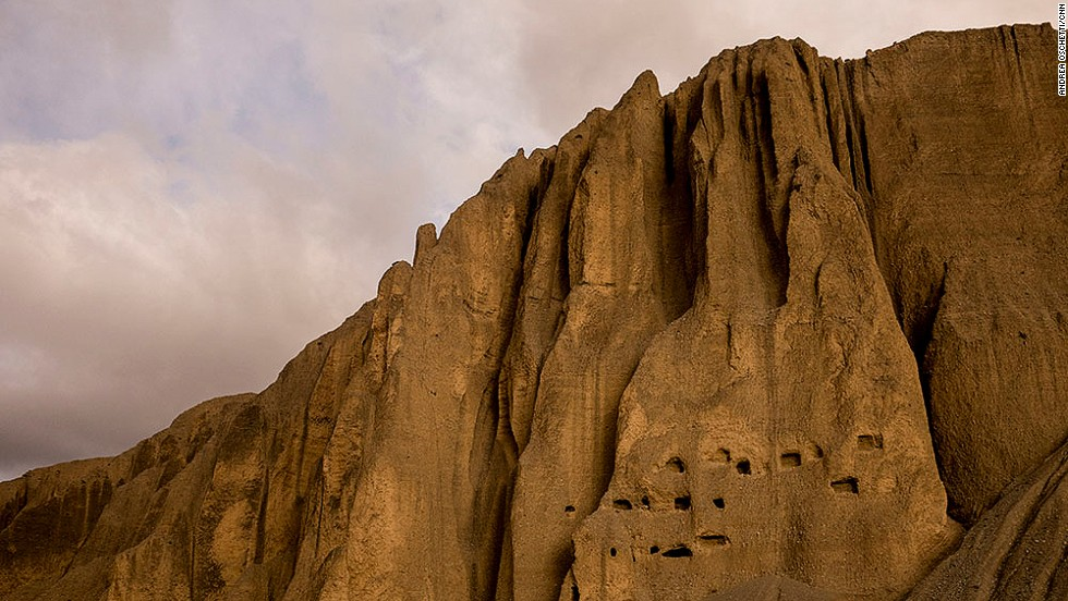 There are more than 10,000 man-made caves in Mustang, many more than 1,000 years old. Most seem impossible to access as they open high onto vertical cliffs. They've been used as meditation places, military lookouts, homes, cemeteries and storage vaults.