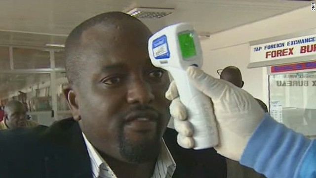 Airports prepare for Ebola screenings