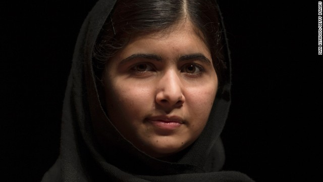 File photo: Malala Yousafzai poses during a photocall for the launch of her memoir, 'I Am Malala' at the South Bank centre on October 20, 2013 in London, England.