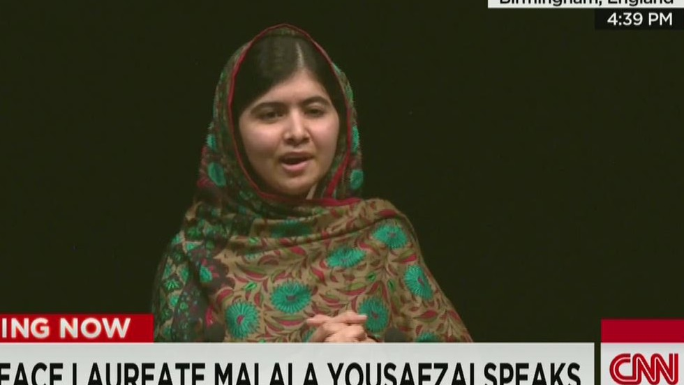 Yousafzai: My dad didn't clip my wings