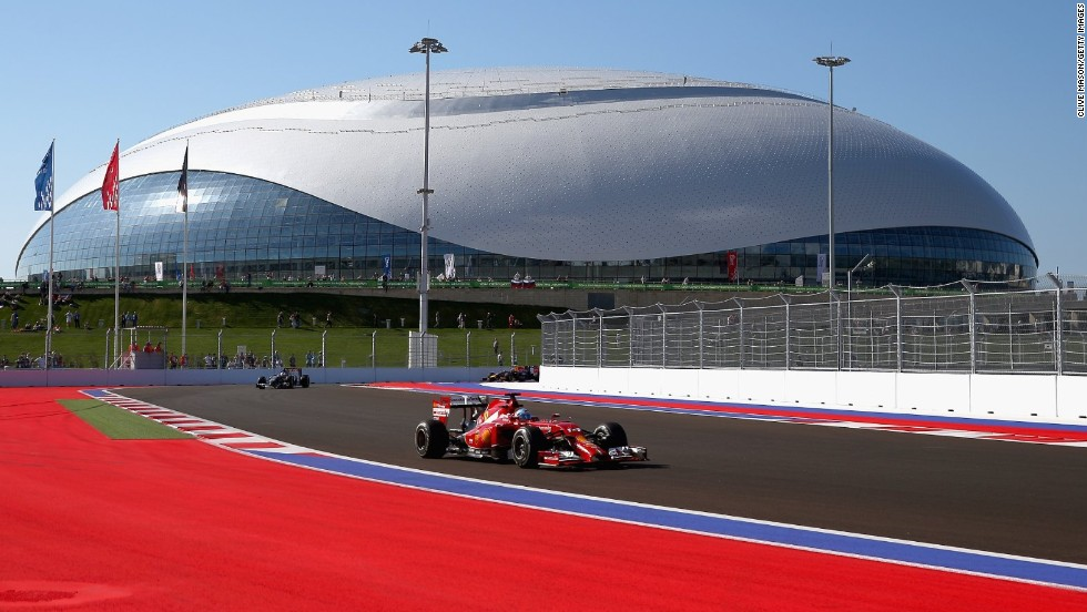 F1 generated an estimated $1.7 billion in 2013, but that hasn't stopped Marussia going out of business. The team folded on Friday, while Caterham has also entered administration this season. Here, Ferrari's Fernando Alonso is pictured driving during practice ahead of the Russian Grand Prix in Sochi.