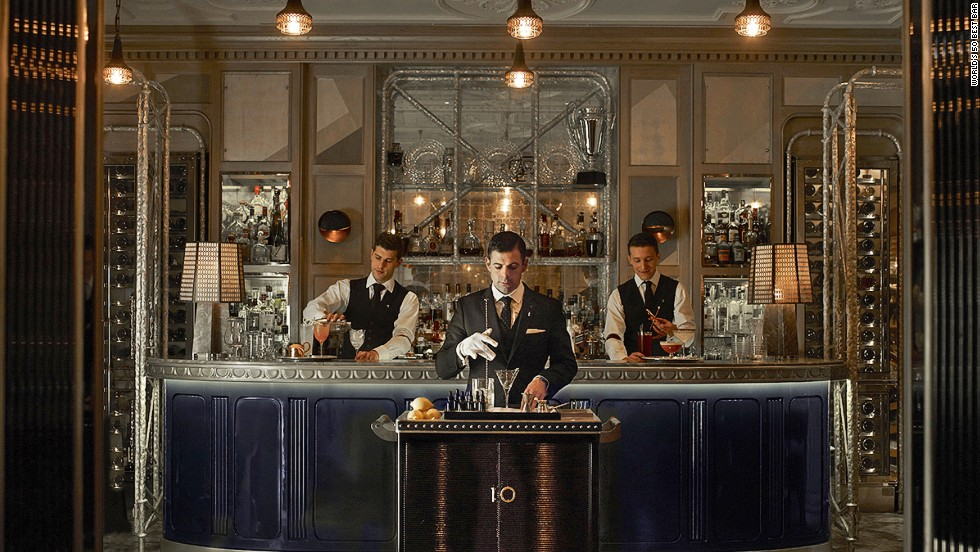 London's Connaught Bar has it all: Ultra-stylish decor, impeccable service and some of the most killer cocktails ever shaken.