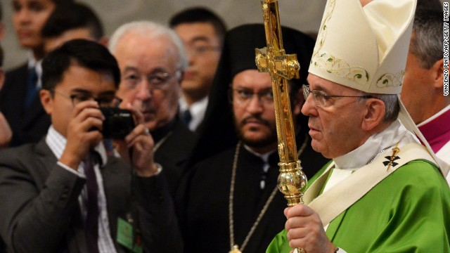 Catholic church changing tone on gays?