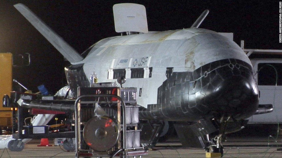 The Air Force's first X-37B mission landed at Vandenberg in the early morning of December 3, 2010. It spent more than 220 days in orbit during its maiden voyage.