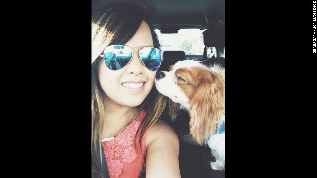 "The Facebook photo of ""Nina Pham"" is being used under fair use guidelines. This means that you must write specifically to the photo, use only as much as is needed to make your editorial point, no use in promos, bumps or teases. Must font ""From Facebook"". Please consult your assigned attorney if you have questions."