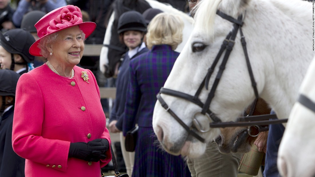The British monarch receives hundreds of presents from world leaders and well-wishers each year. Top of the list? Equine-related gifts.