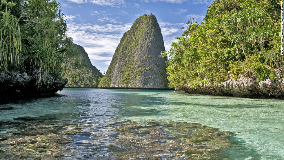 After the Manado area (pictured), the survey will move onto mapping reefs around the Solomon Islands later this month.