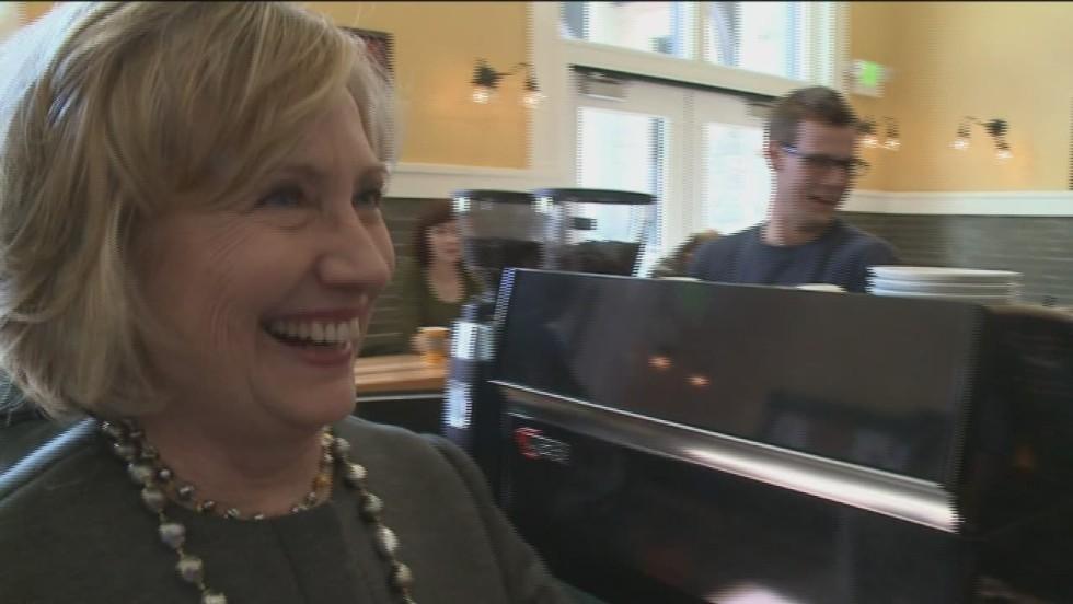 Clinton: Is that a marijuana plant?