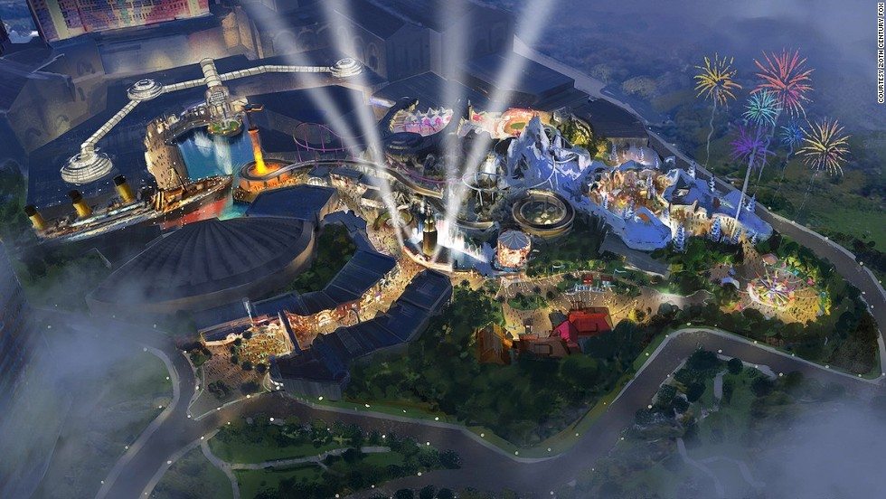 """The first theme park for 20th Century Fox in Genting, Malaysia, will feature rides tying in with """"Ice Age,"""" """"Alien vs. Predator,"""" """"Planet of the Apes"""" and """"Night at the Museum."""""""