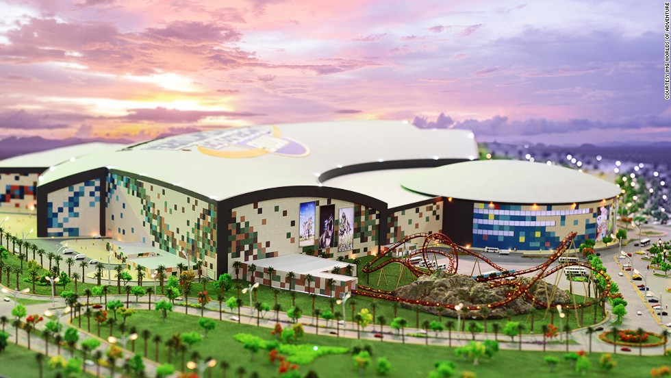 IMG Worlds of Adventure's vast indoor theme park will include four zones, including ones dedicated to Cartoon Network and Marvel comic franchises.