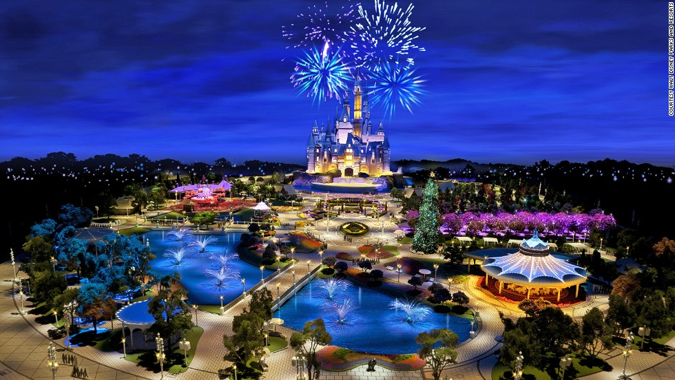 Shanghai Disney Resort is a Chinese re-imagining of classic Walt Disney themes.