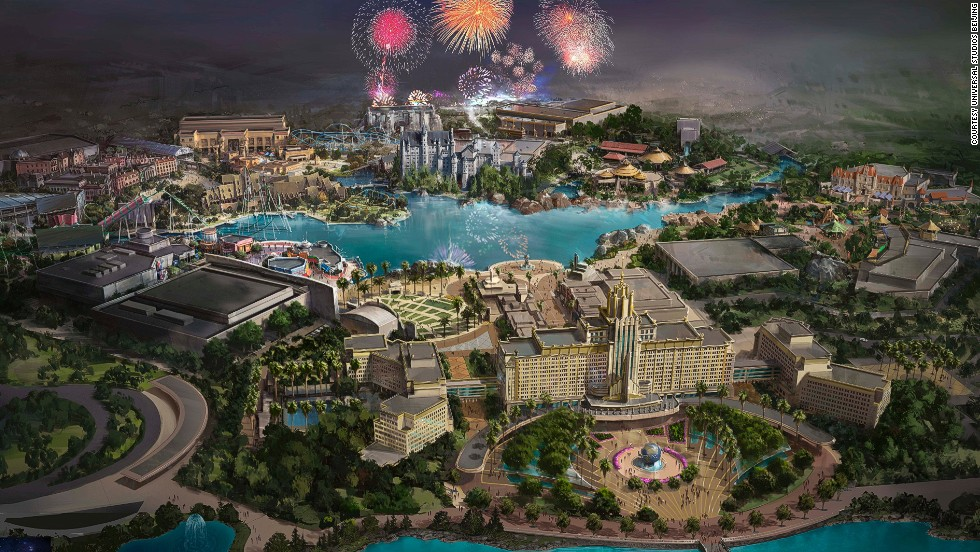 Universal Beijing will blend Chinese cultural heritage with Hollywood movie themes. The complex will feature the first-ever Universal Studios-themed resort hotel.