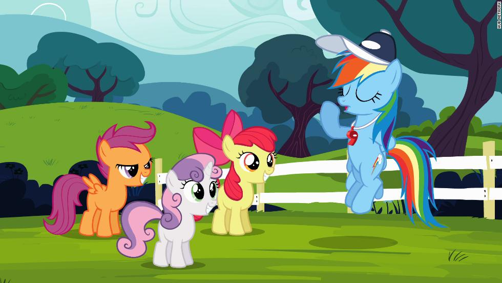 "<strong>Then: </strong>The My Little Pony line of tiny horses inspired a ""collect them all"" mentality that was so intense it inspired TV series and a movie. <strong>Now: </strong>The My Little Pony love has shifted from the toys to Hub's ""My Little Pony: Friendship is Magic."" And instead of a fan base made up primarily of young girls, the new ""My Little Pony"" series has a really vocal adult male contingent -- a.k.a. ""bronies."""