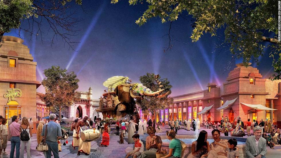 Dubai Parks will be feature three themes in one with Legoland Dubai, Bollywood Parks Dubai and Motiongate Dubai.