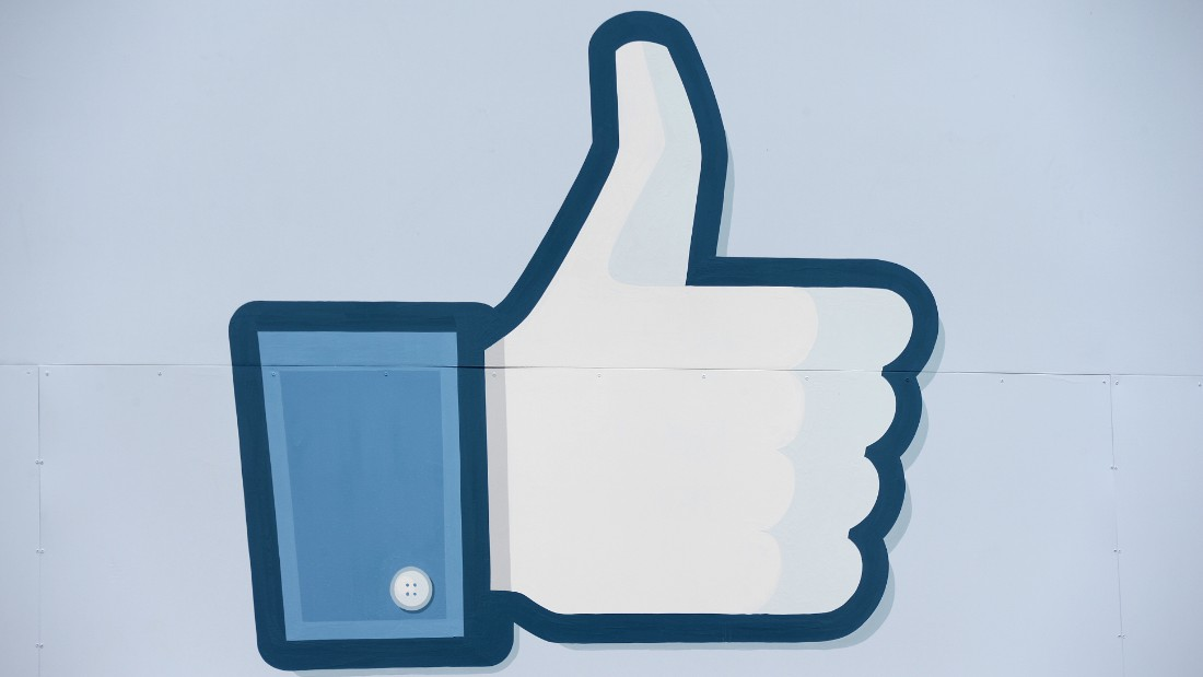 A thumbs up or 'Like' icon at the Facebook main campus in Menlo Park, California, May 15, 2012.
