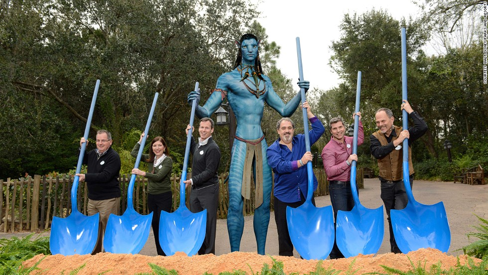 If the Na'vi tribe could help build the new Avatar Land, it'd be finished faster. The new park within Disney World Orlando's Animal Kingdom broke ground in January 2014.
