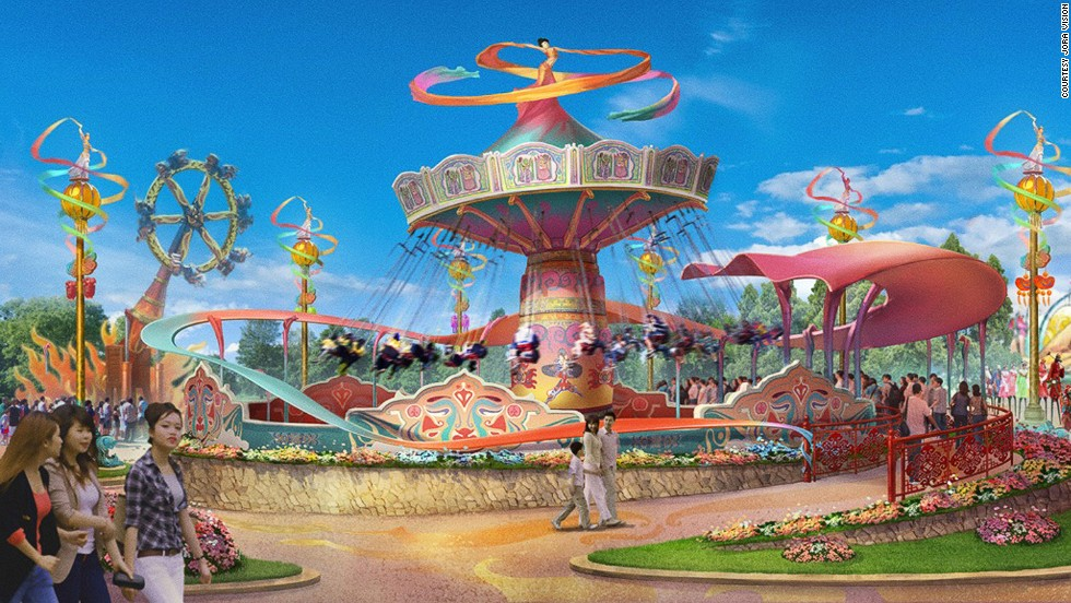 Taking inspiration from Chinese traditions, Wanda Hefei will feature a Chinese Opera Garden. The park will have a butterfly-themed area called Butterfly Wonderland and pirate ship attraction called Battle of Feishui (flying ship).