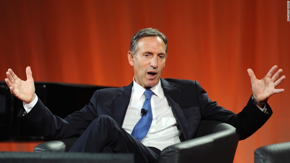 <strong>Supportiveness: Howard Schultz, Starbucks </strong><br />The CEO of Starbucks began offering health insurance for part-time employees as well as full-time staff in the U.S. as early as 1988. According to James Adonis, it was a smart way for Schultz to show his support for part-timers, who are often excluded from benefits, decision-making, and training program.