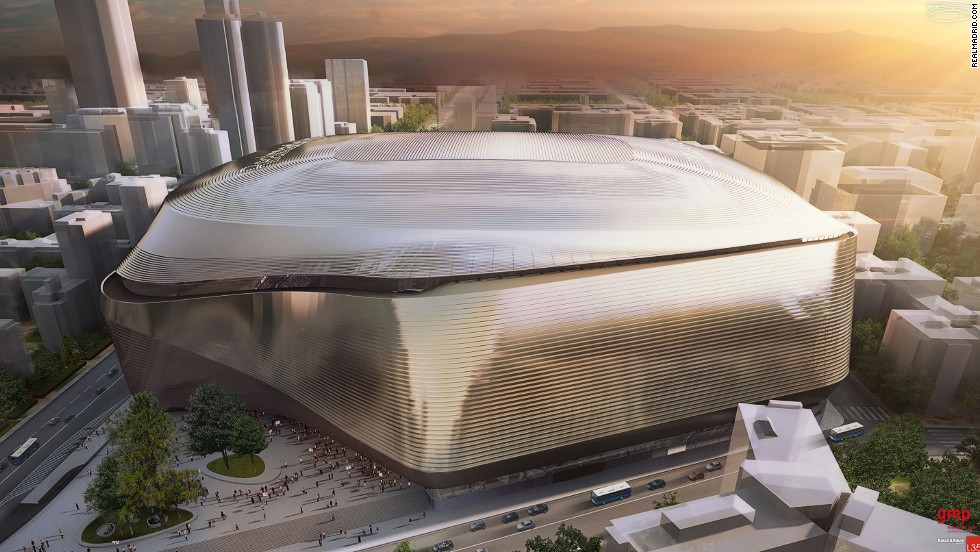 His architecture firm is also behind the $500m redevelopment of Real Madrid's home -- the Estadio Santiago Bernabeu.
