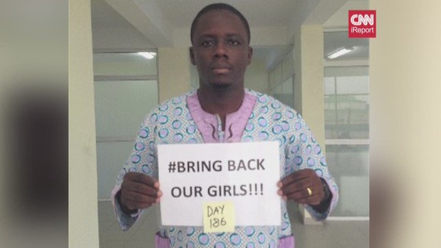 iReport Boko Haram free our girls day count_00013217.jpg