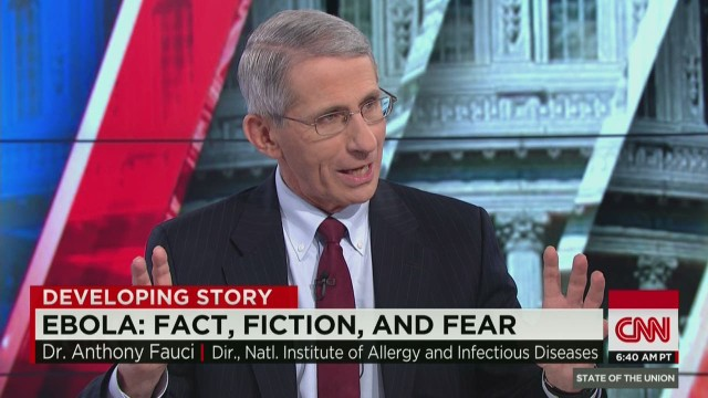 sotu crowley nih dr anthony fauci on clipboard man and ebola precautions_00024402.jpg
