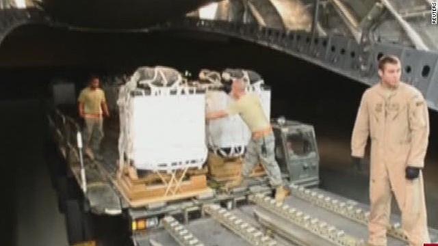 U.S. drops weapons, supplies in Kobani