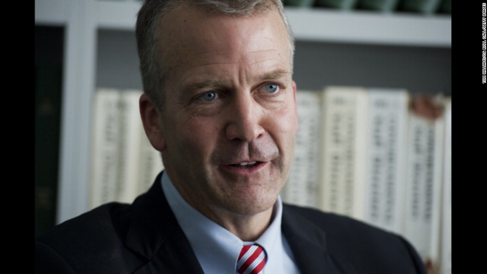 Sullivan is interviewed in Roll Call's Washington office in June.