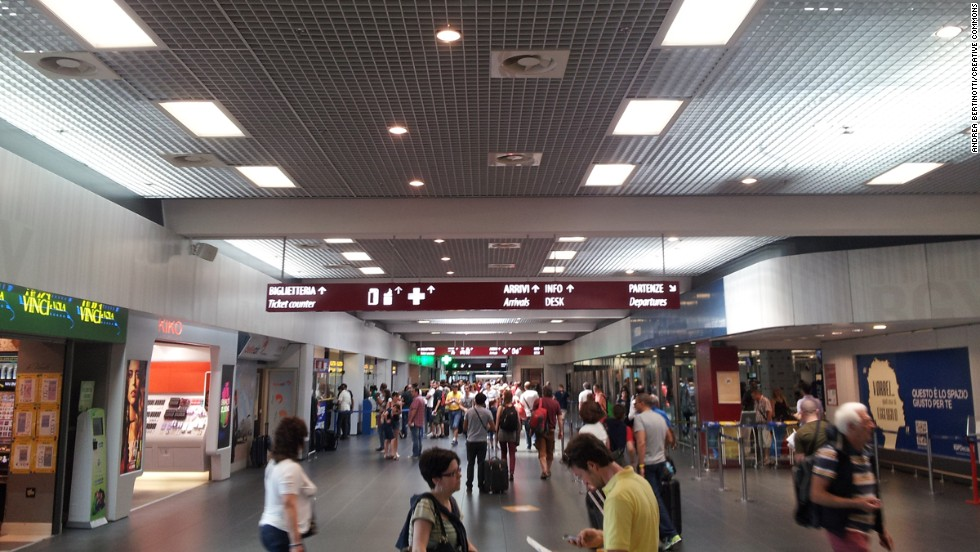 """The only way this airport could be improved would be to destroy it and rebuild,"" one respondent commented on Milan's secondary airport, Bergamo Orio al Serio, which was voted eighth worst."