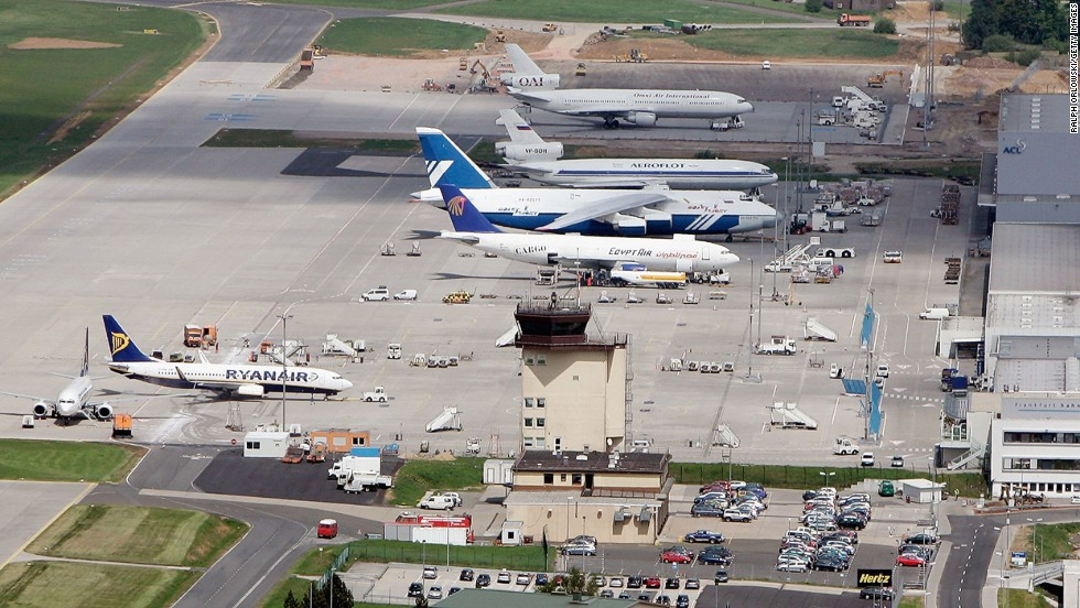 Germany's first low-fare airport, Frankfurt-Hahn International Airport is also the German base of budget airline Ryanair. It was voted sixth worst airport in the world.