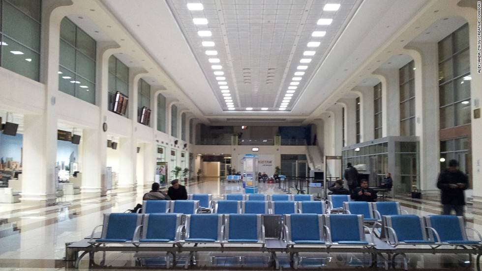 "In spite of a few recent upgrades to the departures area, the queues and crowds at Tashkent International Airport continue to be a frustrating experience. ""Worsening the situation is that these queues are often chaotic-verging-on-aggressive, and lack any form of crowd control,"" said Sleeping in Airports."