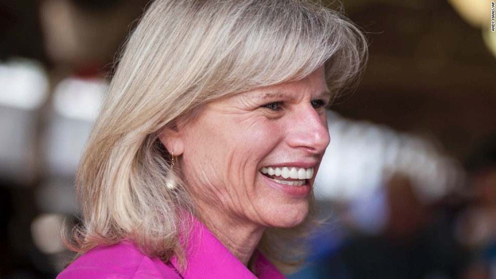 Burke, a businesswoman and former Wisconsin Secretary of Commerce, was challenging Walker on his ability to stimulate the state's economy. She promised to create more jobs.