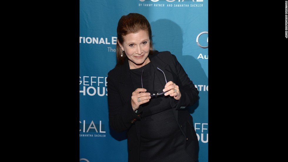 "May the birthday force be with Carrie Fisher! The ""Star Wars"" actress celebrated her 58th birthday on October 21 and <a href=""http://www.dailymail.co.uk/tvshowbiz/article-2801268/carrie-fisher-celebrates-turning-58-dines-harrison-ford-star-wars-episode-vii-stars.html"" target=""_blank"">was seen partying with her ""Star Wars: Episode VII""</a> co-stars. The actress has recently gotten in top shape, <a href=""http://www.today.com/popculture/metal-bikini-time-carrie-fisher-has-lost-40-pounds-star-2D79639086"" target=""_blank"">perhaps to slip into that famous metal bikini</a> once again."