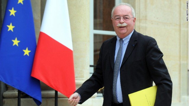 Christophe de Margerie, CEO of French oil and gas company Total, arrives for a meeting at the Elysee Palace in Paris on June 30, 2014.