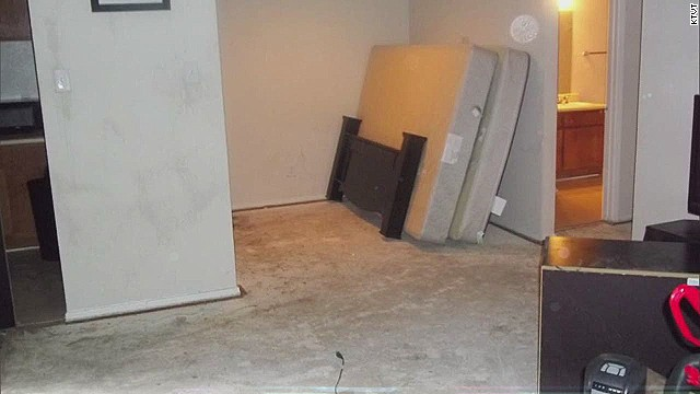 A look inside Ebola patient's apartment