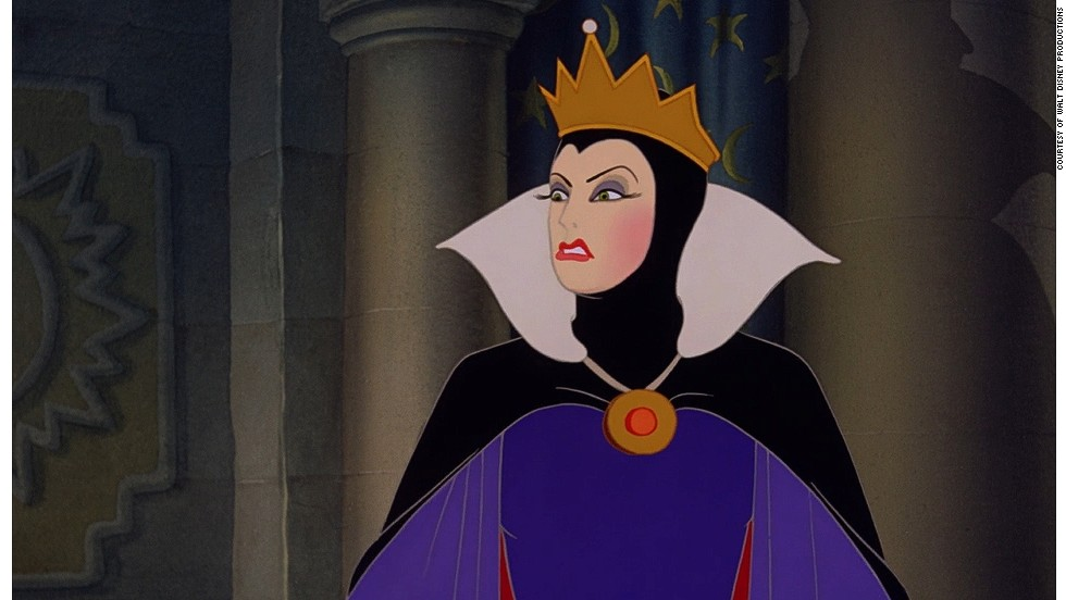 "Confidence can cause delusion and what finer example of that than The Queen in ""Snow White and The Seven Dwarfs."" Her evil plan to kill Snow White and become the ""fairest of them all"" inevitably fails. Sometimes it's best to admit that we can't have it all."