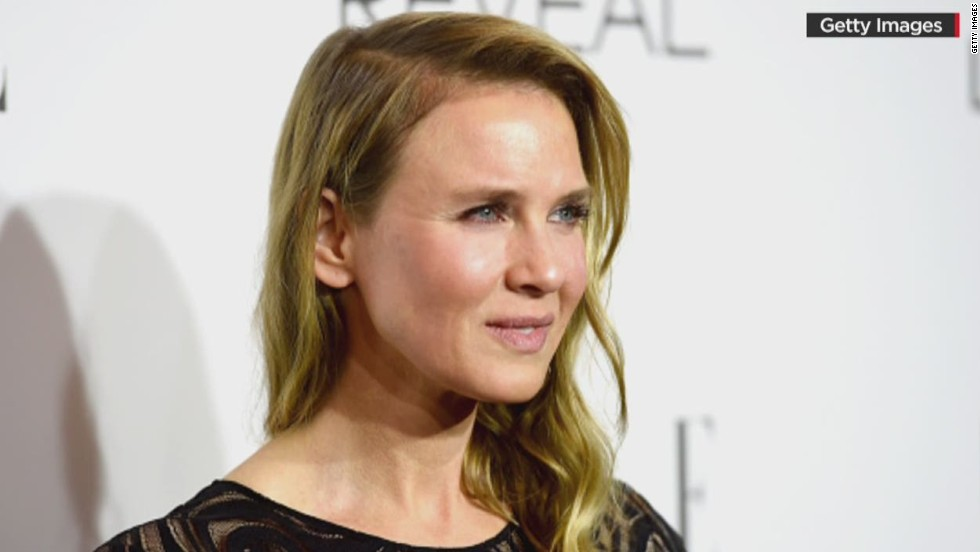 Renee Zellweger's brow-raising new look (2014)