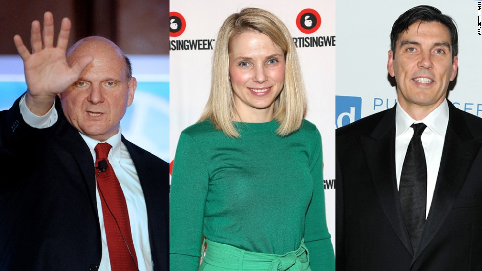 """Put that camera down, right now. Abel, you're fired. Out."" Which one of these three CEOs (Steve Ballmer, Marissa Mayer, Tim Armstrong) said this to an employee with more than one thousand people listening?"