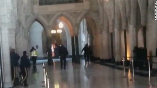 Ottawa shooting witness: It was chaos