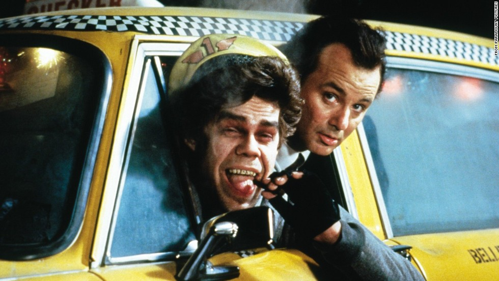 """Scrooged"" with Bill Murray and David Johansen ""... <a href=""http://www.rogerebert.com/reviews/scrooged-1988"" target=""_blank"">was obviously intended as a comedy, but there is little comic about it, and indeed the movie's overriding emotions seem to be pain and anger,"" Ebert wrote. ""You can't bad-mouth 'A Christmas Carol' all the way through and then expect us to believe the good cheer at the end.""</a>"