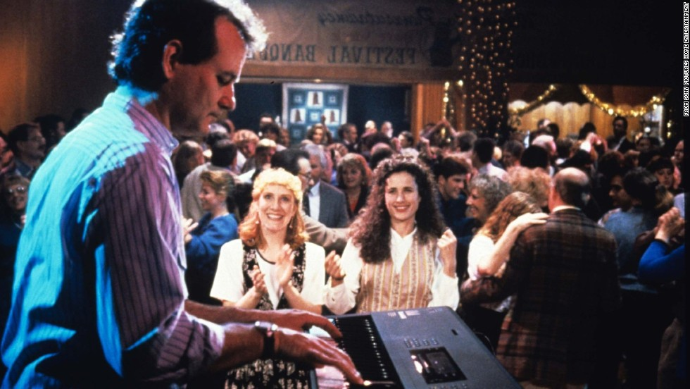 """""""Groundhog Day"""" (1993), directed and co-written by Ramis, has become a classic. Murray plays a caustic Pennsylvania weatherman forced to live a day over and over again. In doing so, he comes to some <a href=""""http://www.nytimes.com/2003/12/07/style/groundhog-almighty.html"""" target=""""_blank"""">realizations about life</a>."""