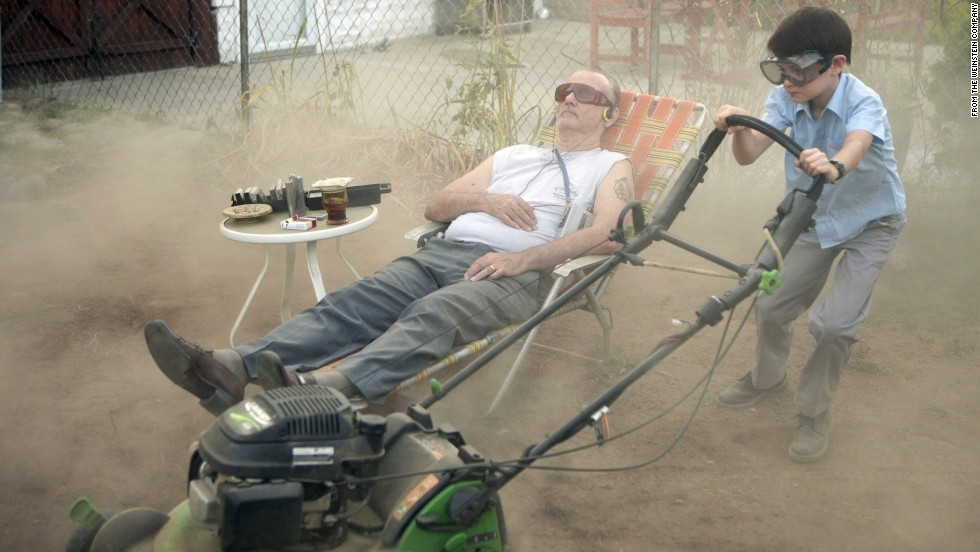 "Murray's latest film, ""St. Vincent,"" stars him as a stroke victim who befriends the son of a neighbor."