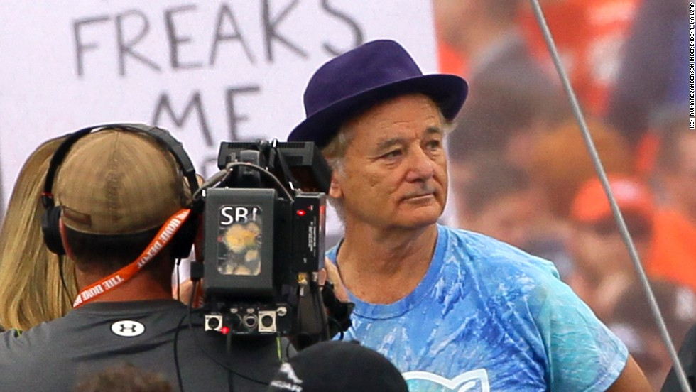 """One of Murray's sons attends Clemson University, and Murray was on hand for an """"ESPN Gameday"""" in 2013 for the Clemson-Florida State game. He disagreed with ESPN expert Lee Corso and <a href=""""http://deadspin.com/lee-corso-picks-fsu-dons-chief-osceola-garb-bill-murr-1448342124"""" target=""""_blank"""">then body-slammed him</a>."""