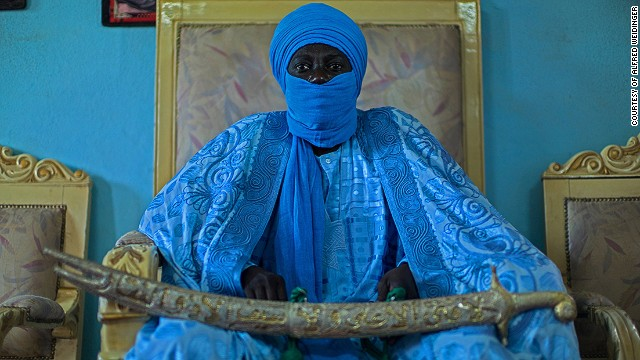 Bakary Yerima Bouba Alioum, Lamido of Maroua, Extreme North, Cameroon, 2012