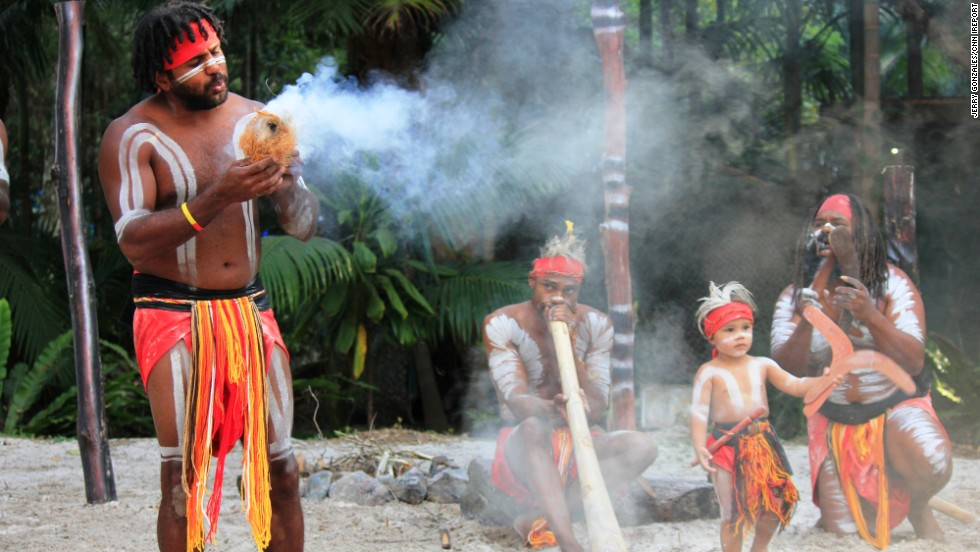 "Meet the Australian Aboriginals. At the Currumbin Wild Sanctuary, <a href=""http://ireport.cnn.com/docs/DOC-1047488"">Jerry Gonzales</a> captured their demonstration on how to create fire,  complete with song and dance."