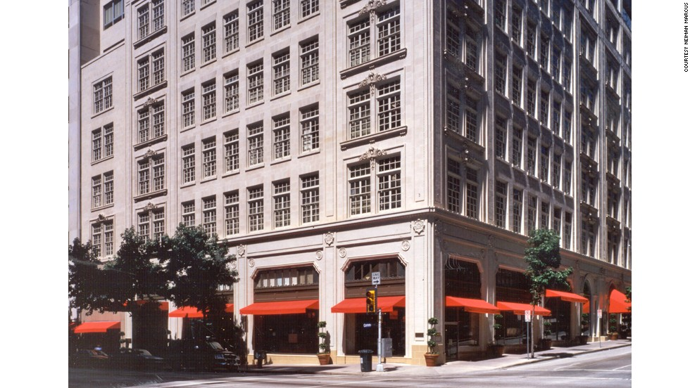 Neiman Marcus' flagship store opened more than 100 years ago in Dallas. The store's personal shoppers can sift through nine stories of clothes to find you a stylish suit.