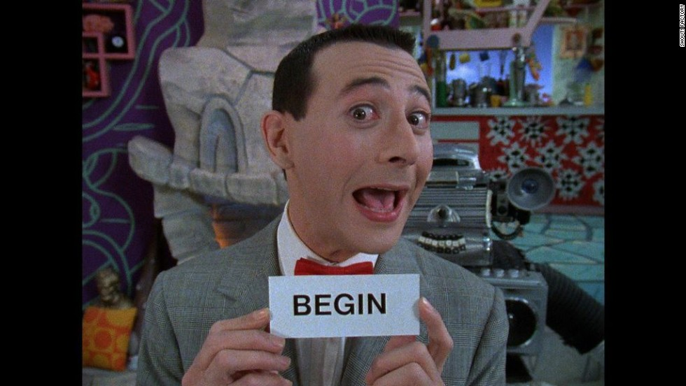 """Pee-wee's Playhouse"" ran from 1986 to 1990, winning 22 Emmys in its 45-episode run. Every day, Pee-wee (Paul Reubens) would give the day's secret word. So for the rest of the day, kids, whenever anyone says the word ""begin,"" scream real loud, OK?"