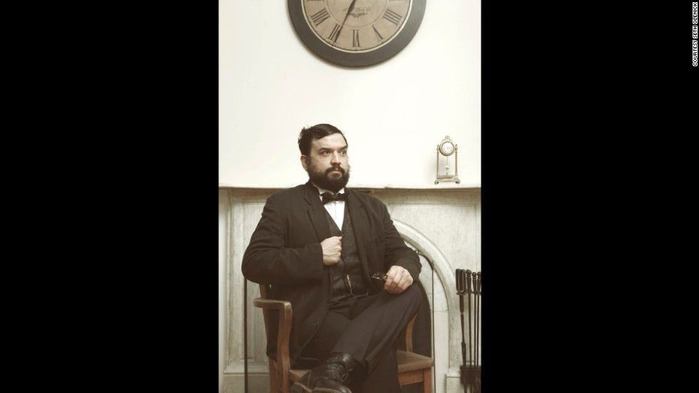 "<strong>Horatio Sanz: </strong>""This was inspired by my two favorite presidents -- Lincoln and Grant -- as well as my spirit animal, John Belushi."""