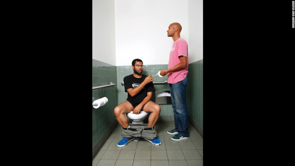 "<strong>Jordan Peele </strong>and<strong> Keegan-Michael Key: </strong>""When we work together, everything comes out alright."" The book <a href=""http://funnybusiness.bigcartel.com"" target=""_blank"">'Funny Business' </a>is the culmination of a seven-year quest by photographer <a href=""http://setholenick.com"" target=""_blank"">Seth Olenick</a> to photograph well-known and up-and-coming stars of comedy. Each portrait is accompanied by a quote from the subject, meant to add context to the shot. You can follow the Brooklyn-based Olenick on <a href=""https://twitter.com/setholenick"" target=""_blank"">Twitter</a> and <a href=""http://instagram.com/smotown"" target=""_blank"">Instagram</a>."