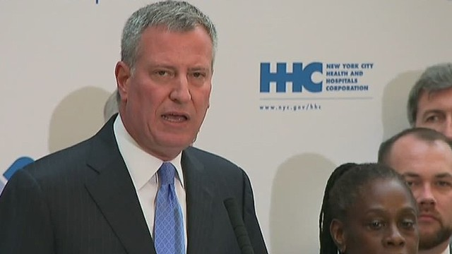 De Blasio: Respect our first responders