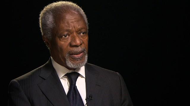 Kofi Annan: Ebola a 'poor man's disease'
